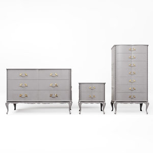 set chests drawers furniture 3D model