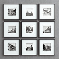 3D picture frames set -29 model