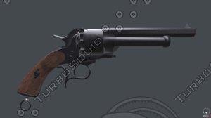 revolver lemat westworld 3D