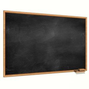 blackboard classic 3D model