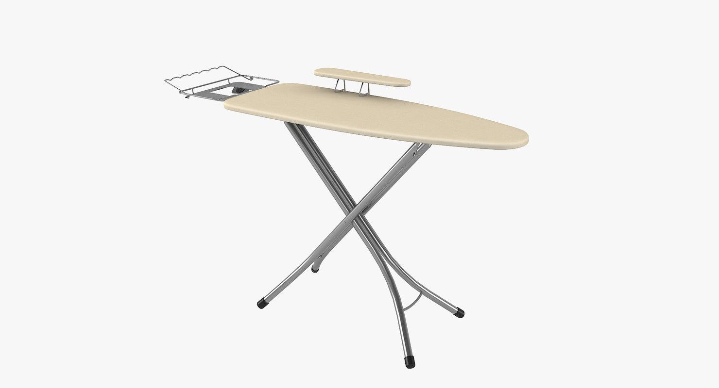 ironing board adjustable sleeve 3D