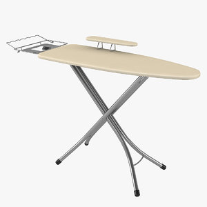 ironing board adjustable sleeve 3D