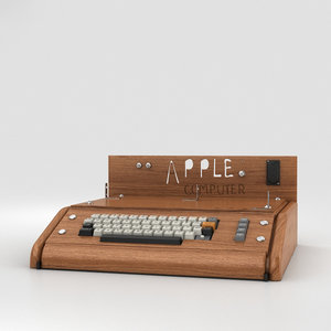 3D model apple computer