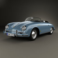 Porsche 356A 1600 Super Speedster 1955