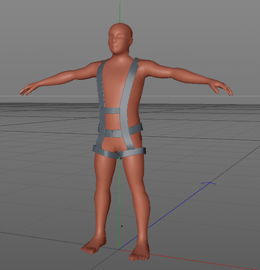 3D safety harness
