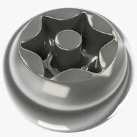 head screw 3D model