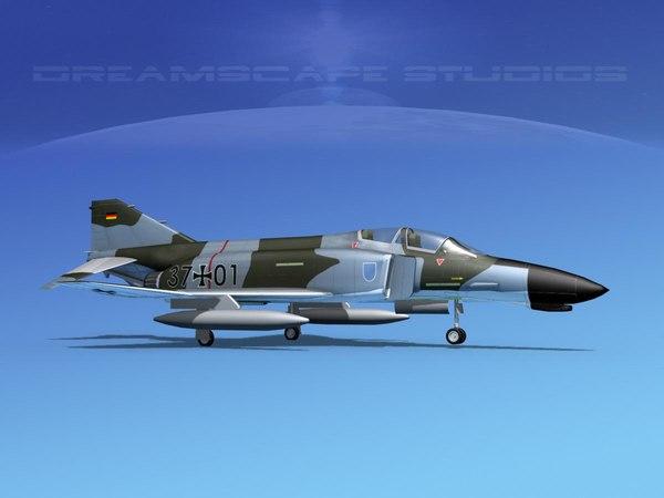 mcdonnell douglas f-4 phantom 3D