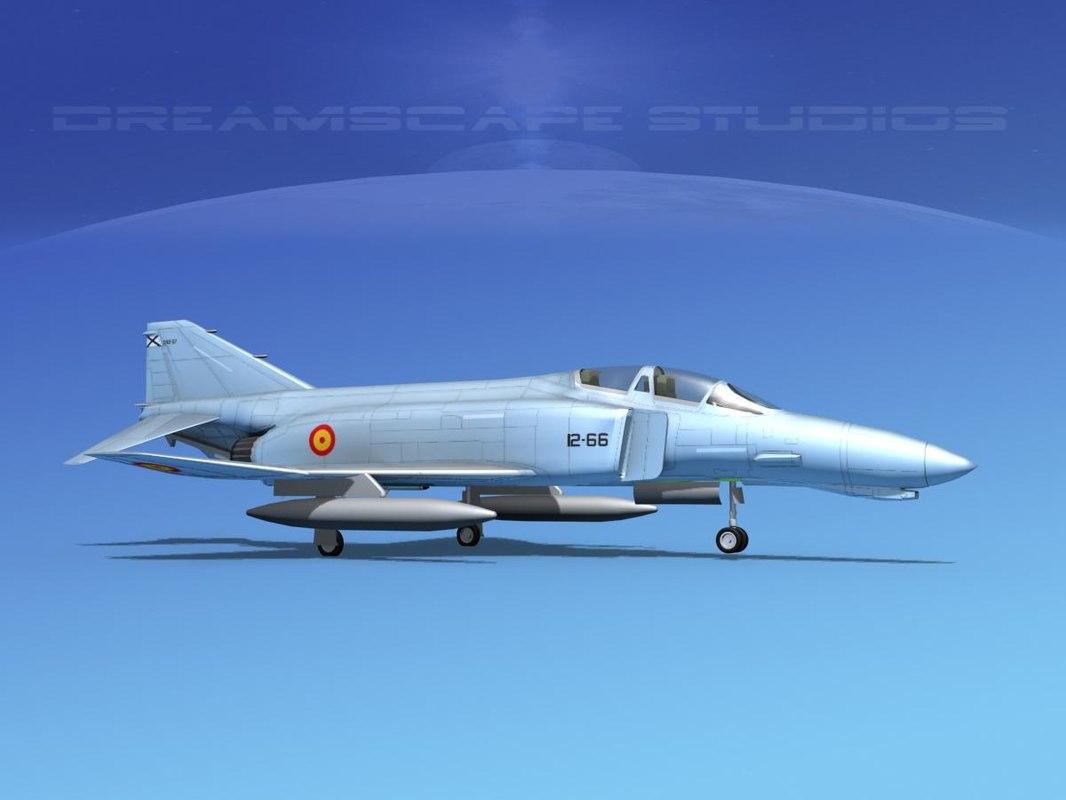 mcdonnell douglas f-4 phantom 3D model