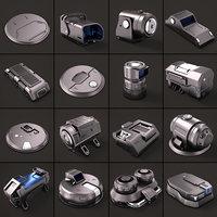 Sci Fi KitBash 02