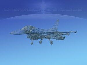general f-16a falcon dynamics model