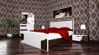 3D model bedroom modern sedef georgia