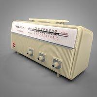 nobility transistor radio l027 3D