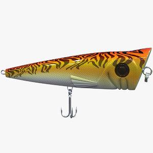 stickbait fishing lure v2 model