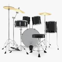 3D drum kit