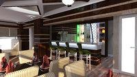 restaurant modern sumgait 3D model