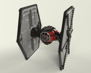 lego order tie fighter model