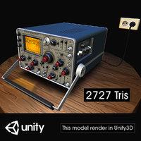 electronic oscilloscope 4 3D
