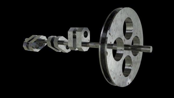 crankshaft 3D