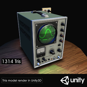 electronic 03 sweepscope 3D model