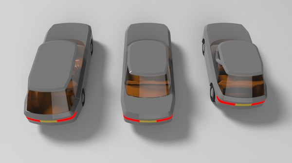 station wagon 3D