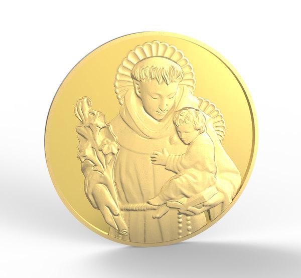print saint anthony - 3D model