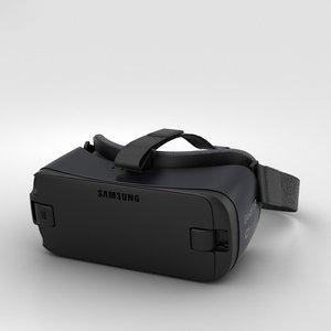 3D samsung vr gear model