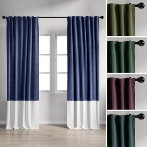 curtain 2 3D model