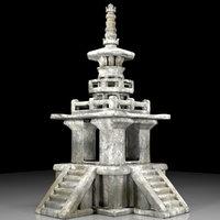 Korean stone pagoda