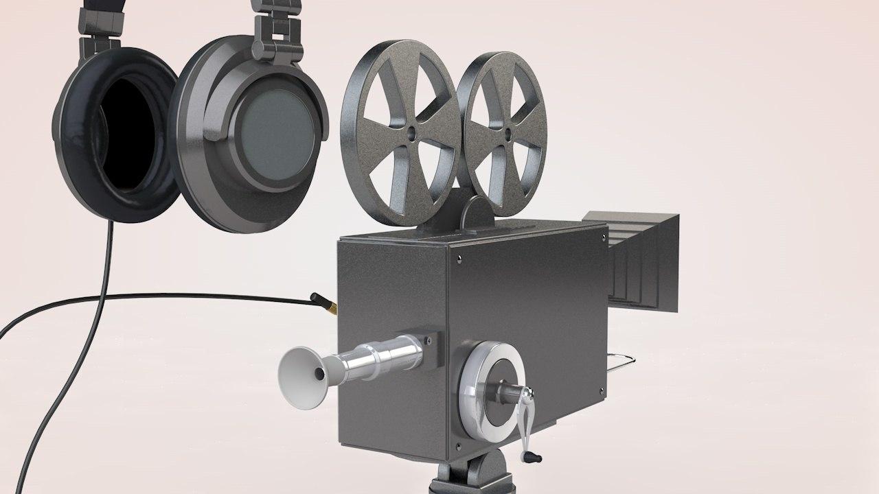camera headphone model