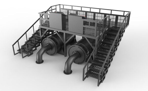 control station 3D model