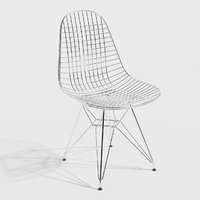 eames dkr chair 3D model