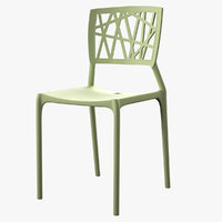 3D prejean dining chair