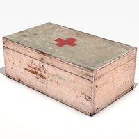 wooden box 3D model