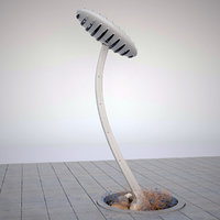outdoor armature lamp 3D model