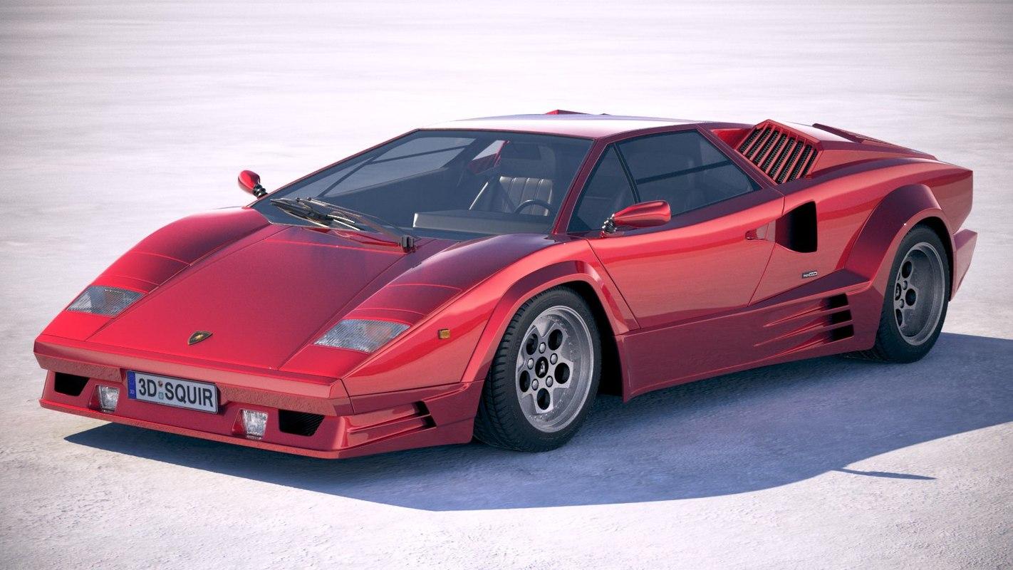 3d Lamborghini Countach Lp500 Turbosquid 1320164