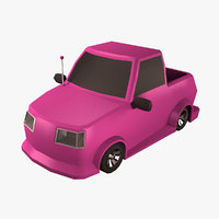 cartoon car 3D