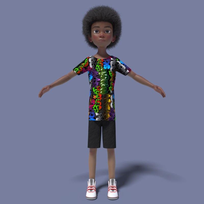 3D model william
