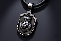 3D jewelry lion king pendant