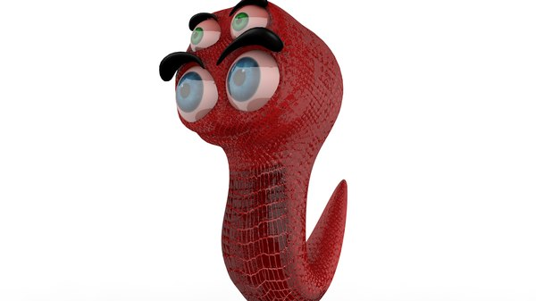 alien protozoan character 3D