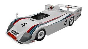 porsche 936 spyder 3D model