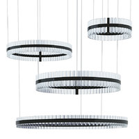 3D saturno baroncelli suspension black
