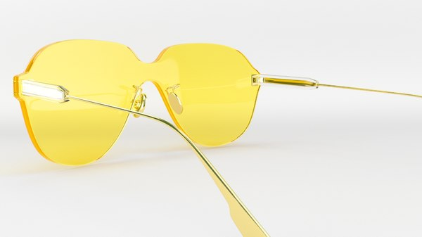 3D dior sunglasses