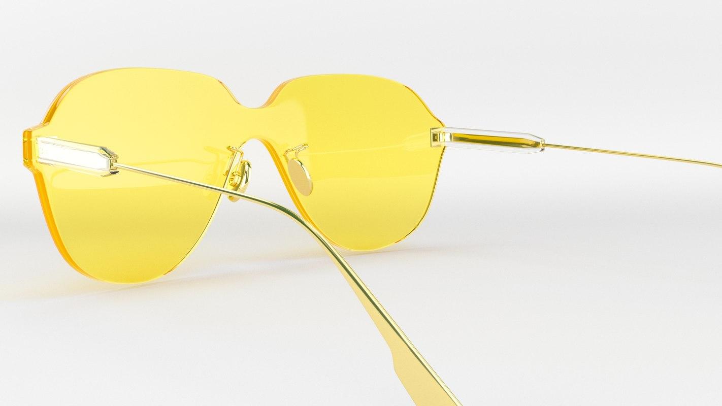 3D dior sunglasses