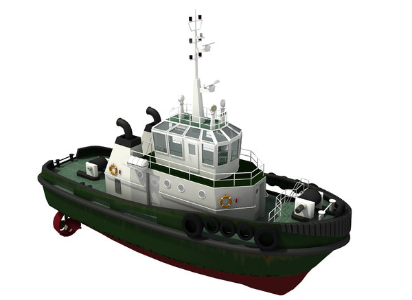 3D model vessel supply