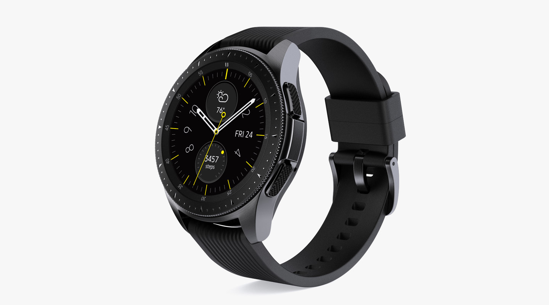 de987edf7 3D samsung galaxy watch 42mm - TurboSquid 1320244