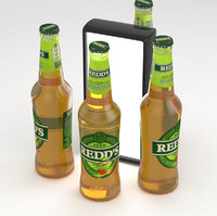 beerbottle beverage 3D