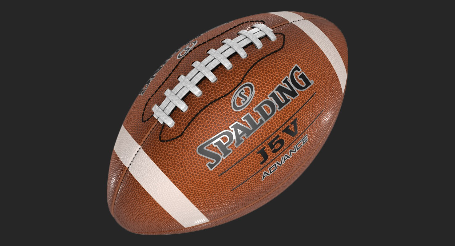 merican football sports 3D model