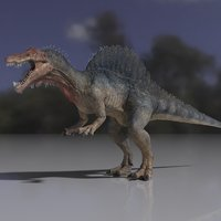 rigged studio license spinosaurus 3D