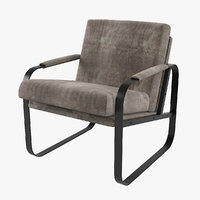 wellige fil chair 3D