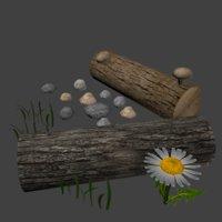 natural assets 3D model